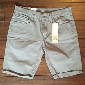 Levi's denim jean shorts (NWT)